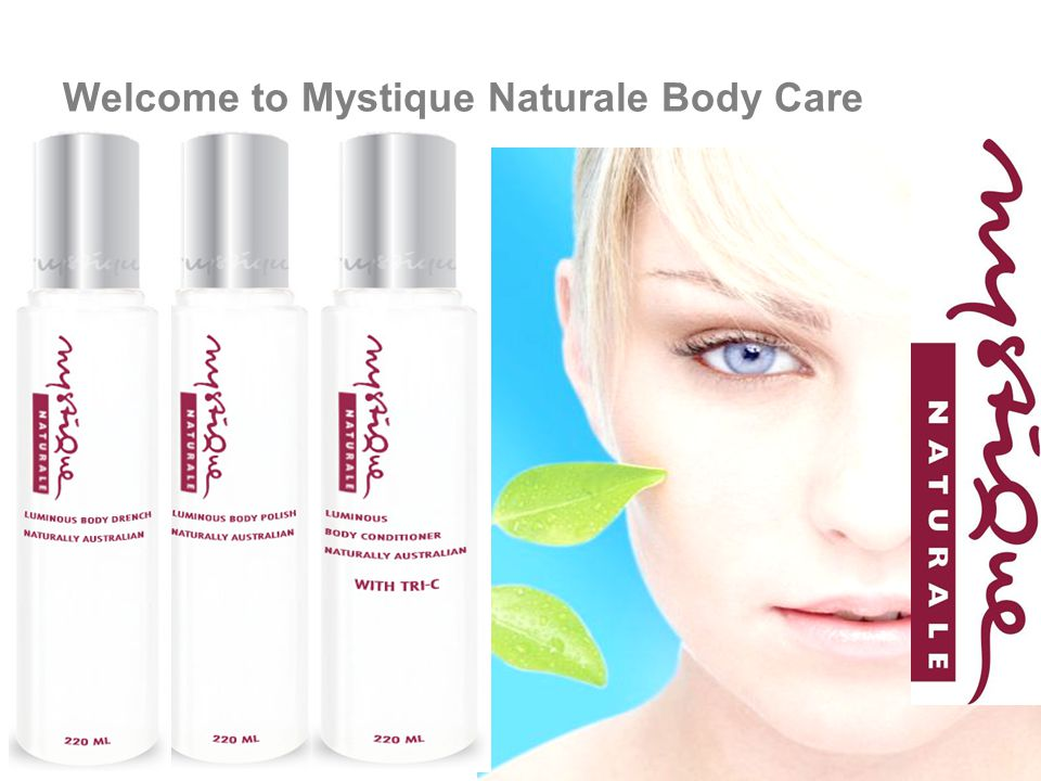 Welcome to Mystique Naturale Body Care