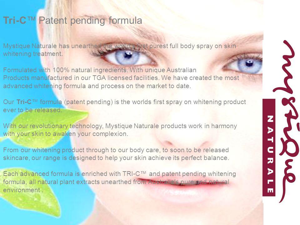 Tri-C™ Patent pending formula