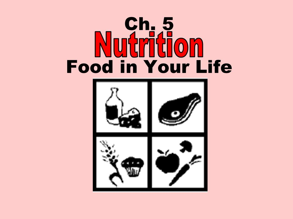 Ch. 5 Food in Your Life Nutrition