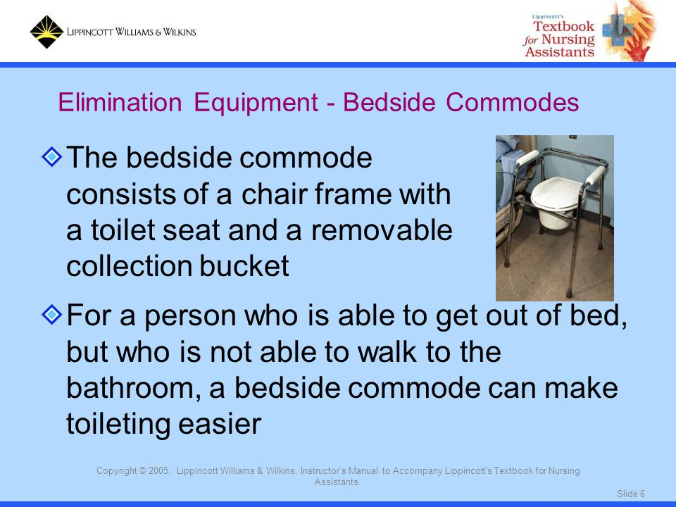 Elimination Equipment - Bedside Commodes