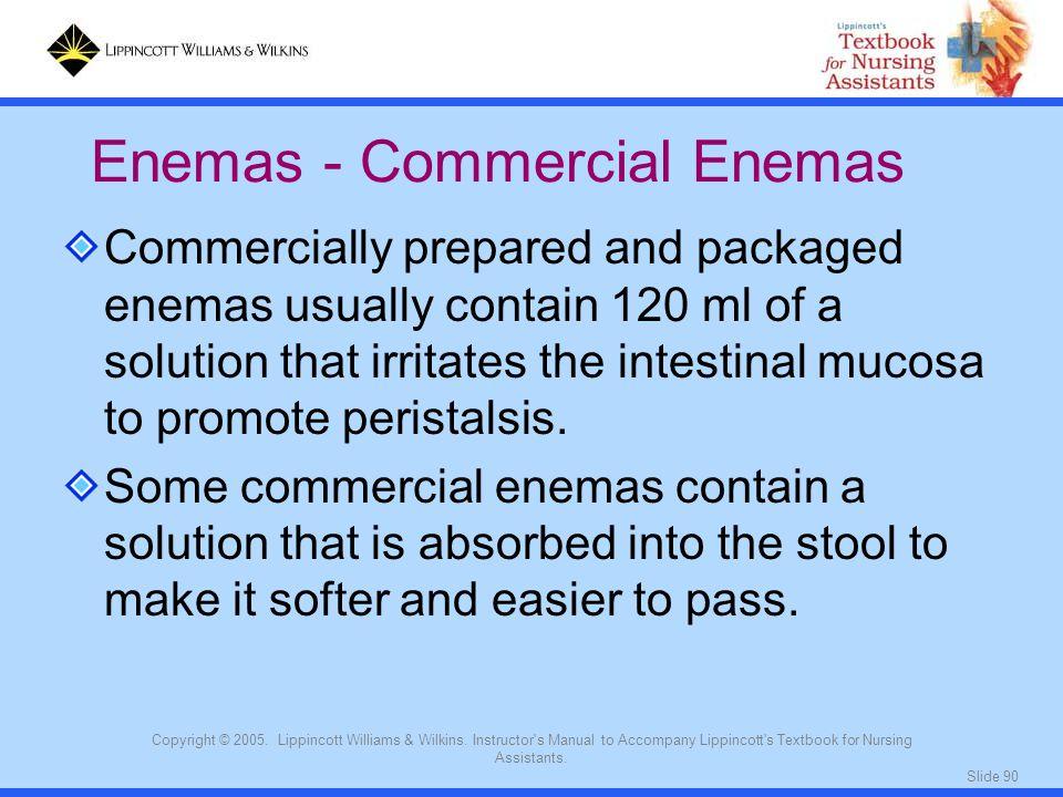 Enemas - Commercial Enemas