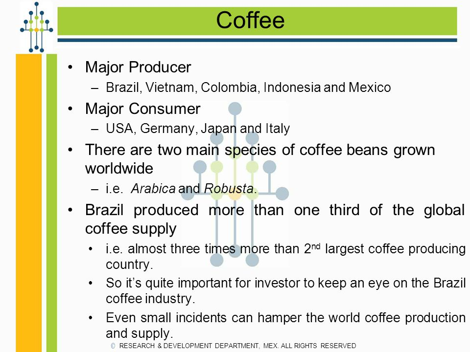 Coffee Major Producer Major Consumer