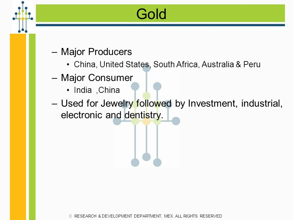 Gold Major Producers Major Consumer