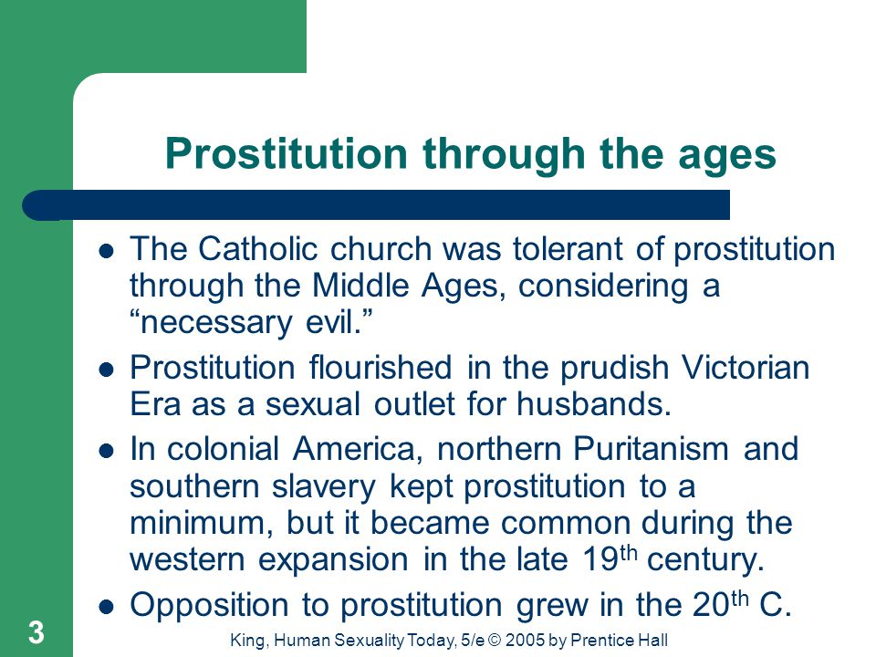 Prostitution through the ages