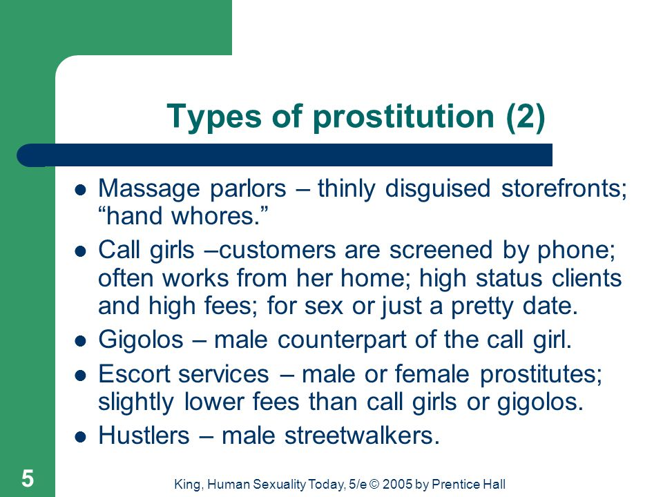Types of prostitution (2)