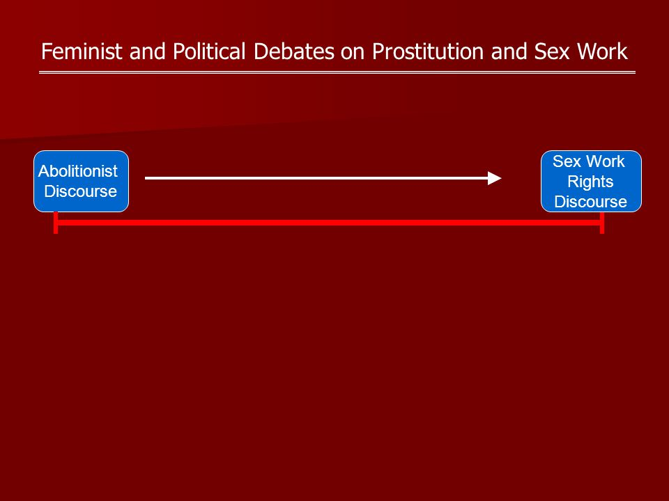 Feminist and Political Debates on Prostitution and Sex Work