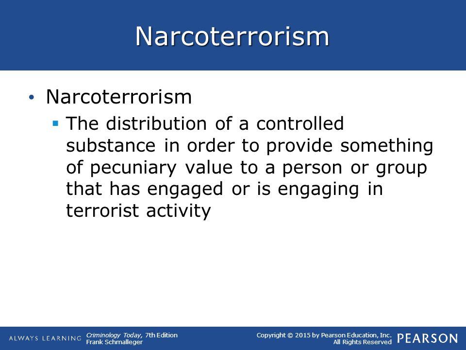 Narcoterrorism Narcoterrorism