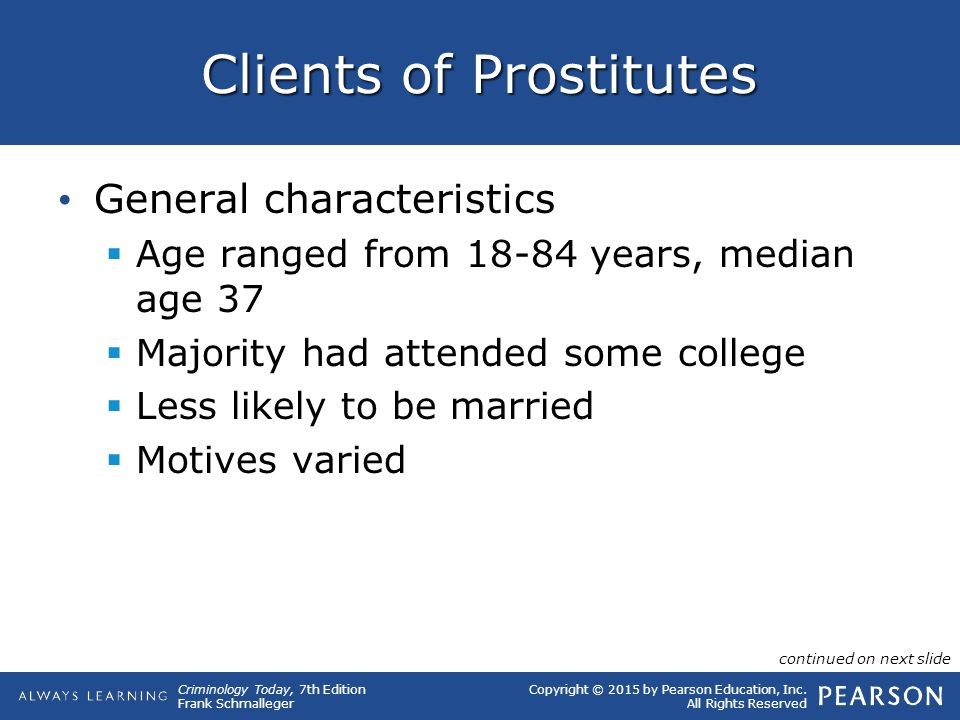 Clients of Prostitutes