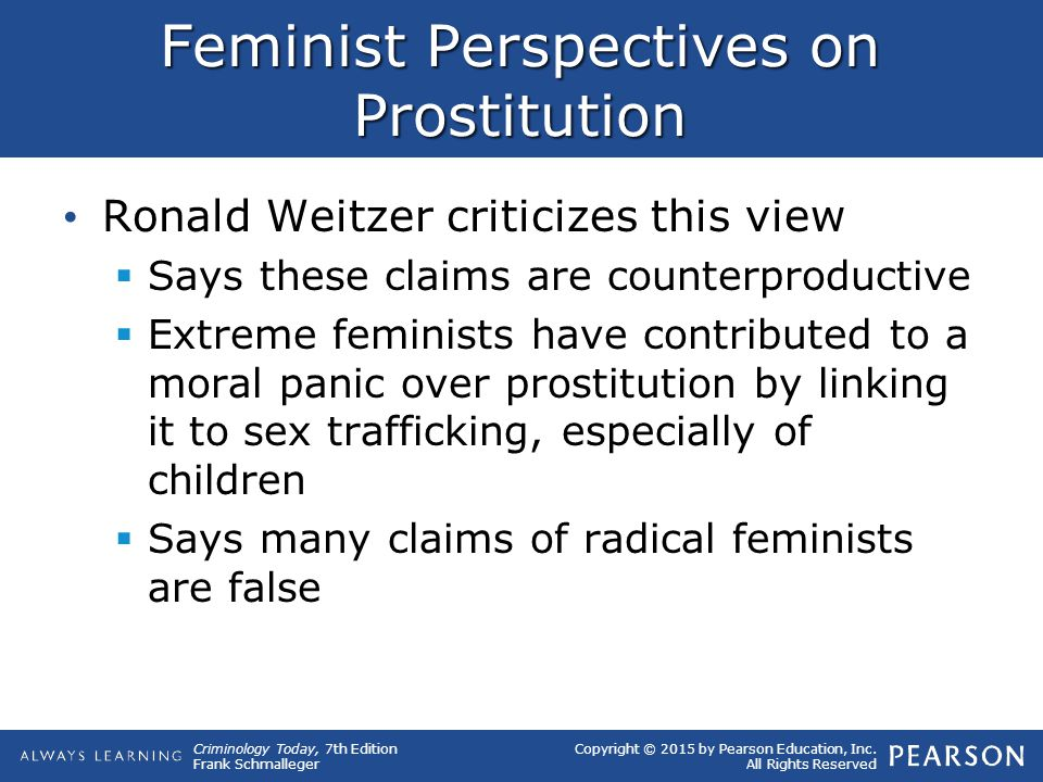 Feminist Perspectives on Prostitution