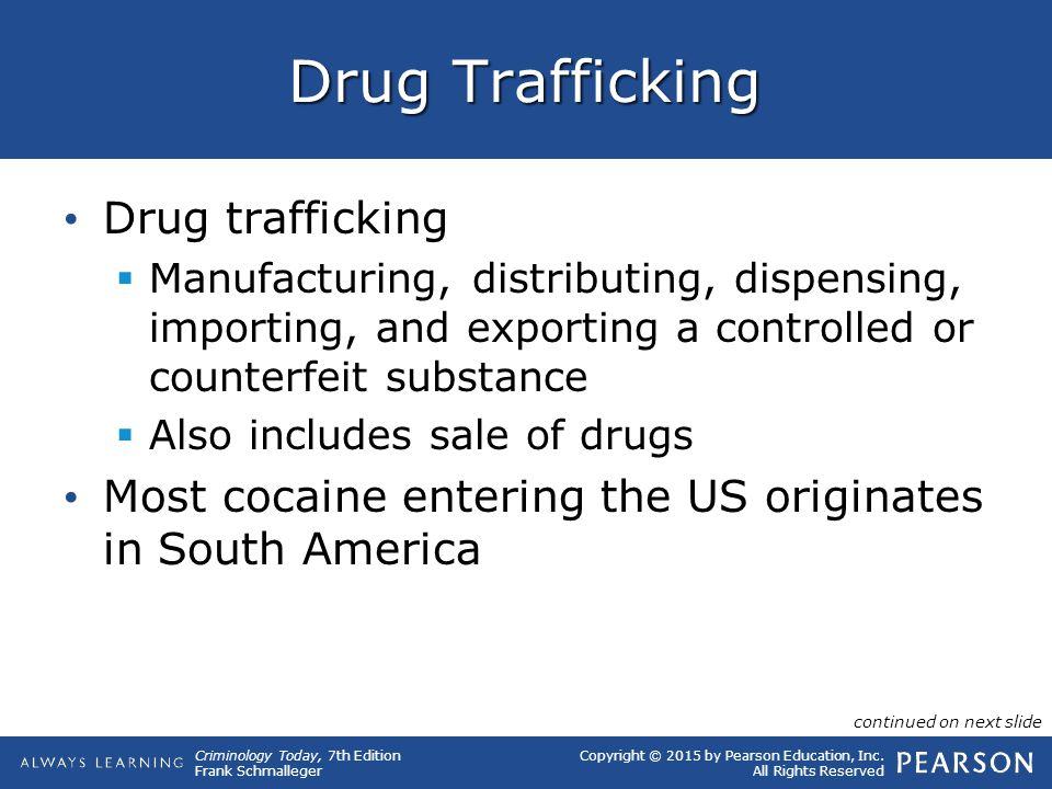 Drug Trafficking Drug trafficking