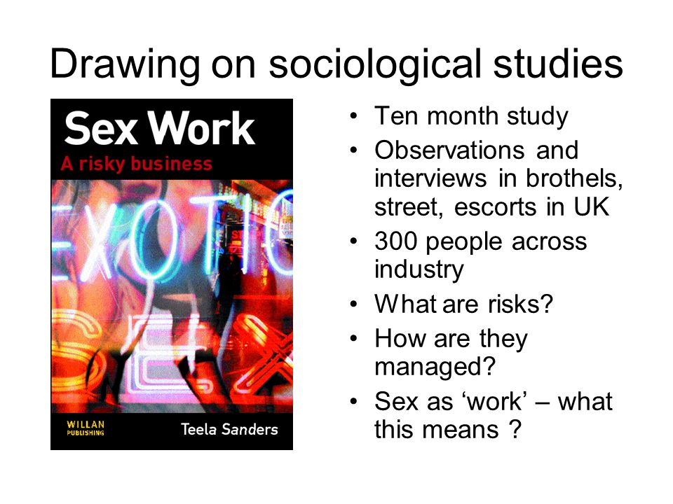 Drawing on sociological studies