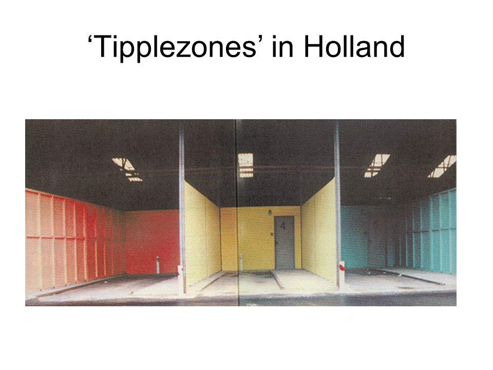 'Tipplezones' in Holland