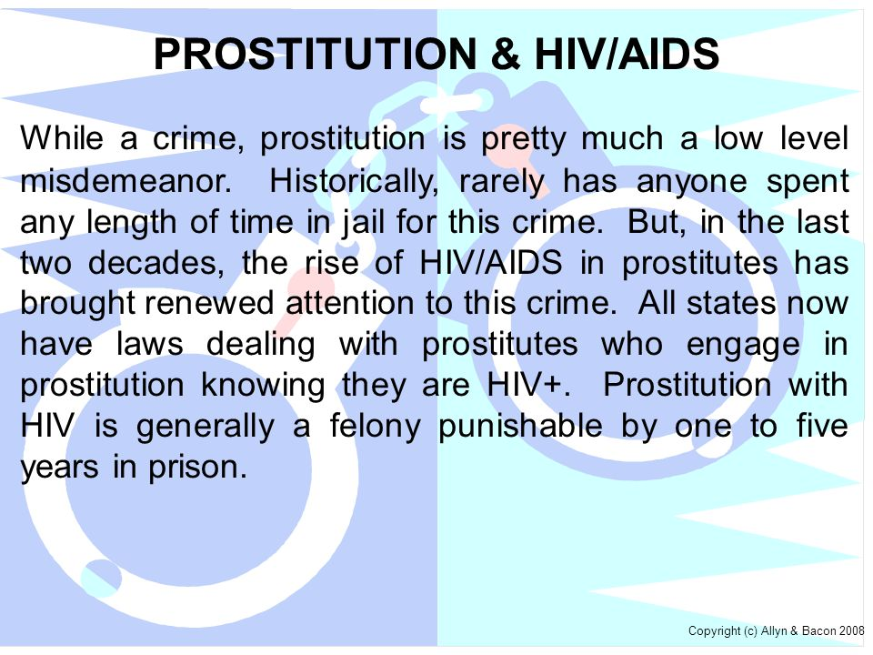 PROSTITUTION & HIV/AIDS