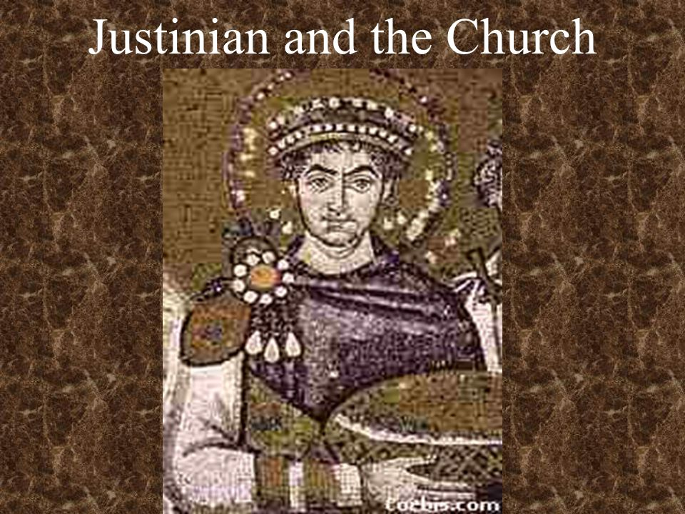 Justinian and the Church