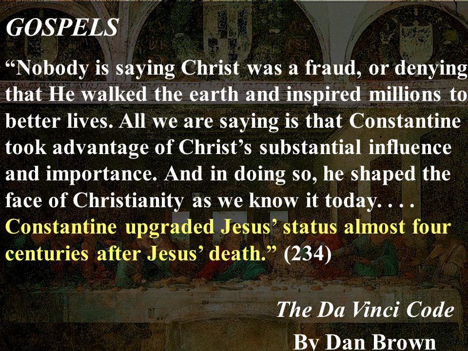 GOSPELS The Da Vinci Code By Dan Brown