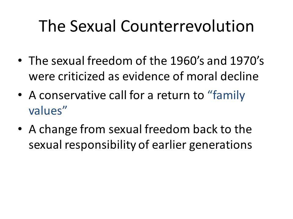The Sexual Counterrevolution