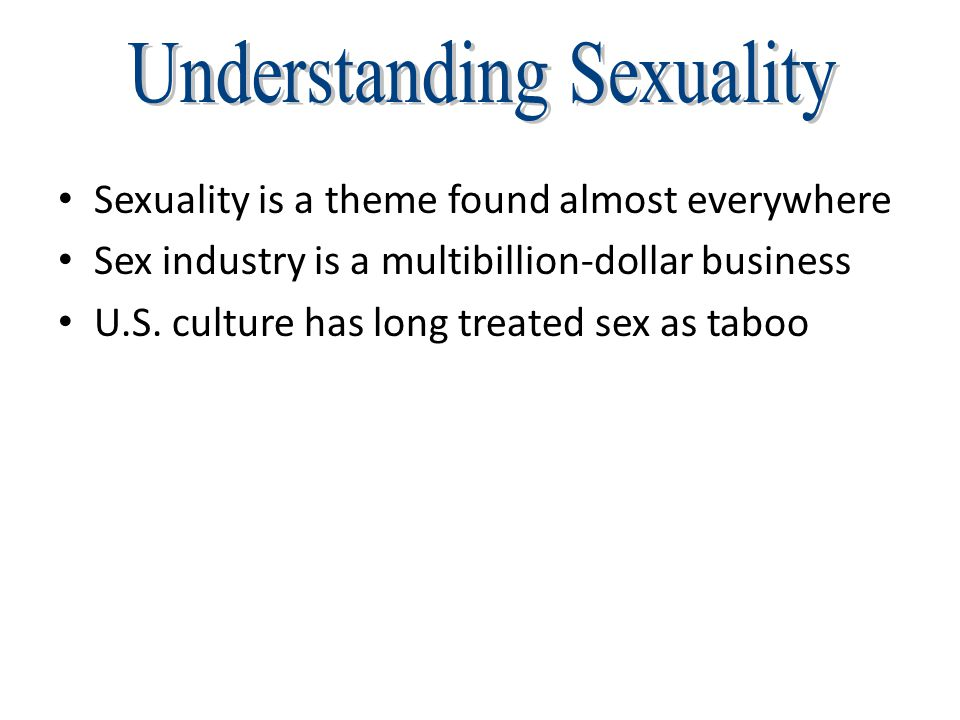 Understanding Sexuality