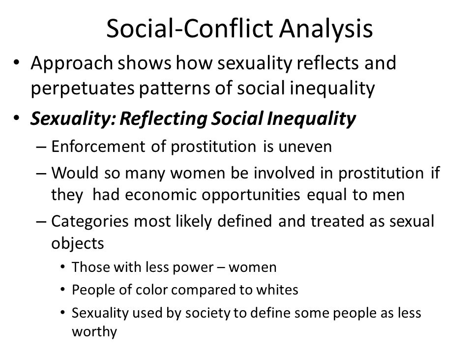 Social-Conflict Analysis