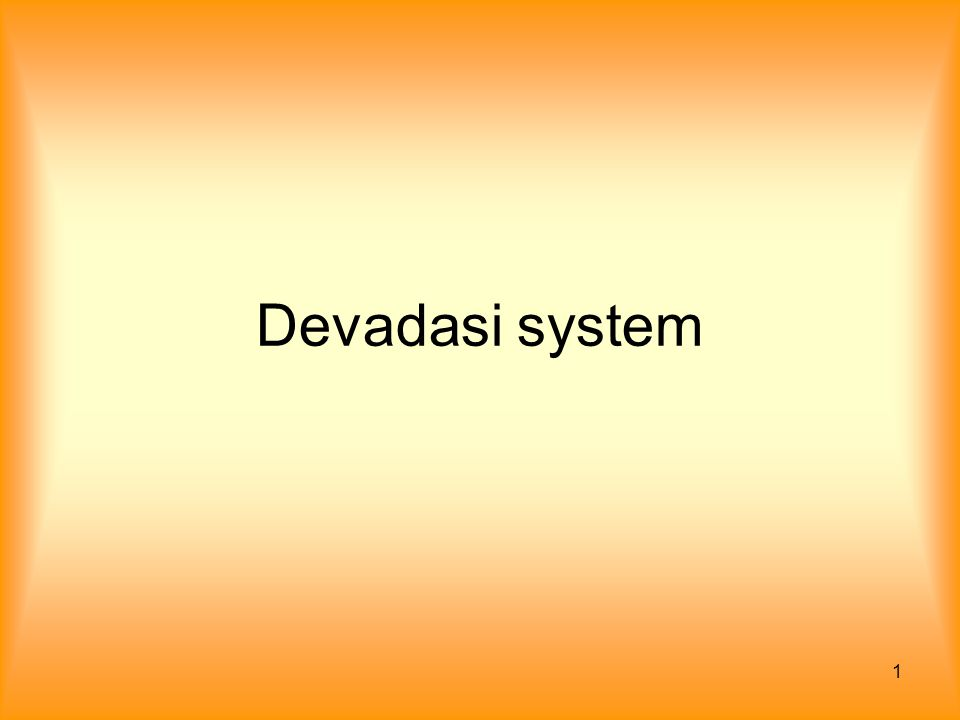Devadasi system