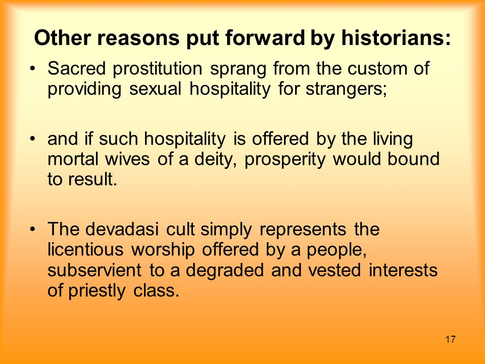 Other reasons put forward by historians: