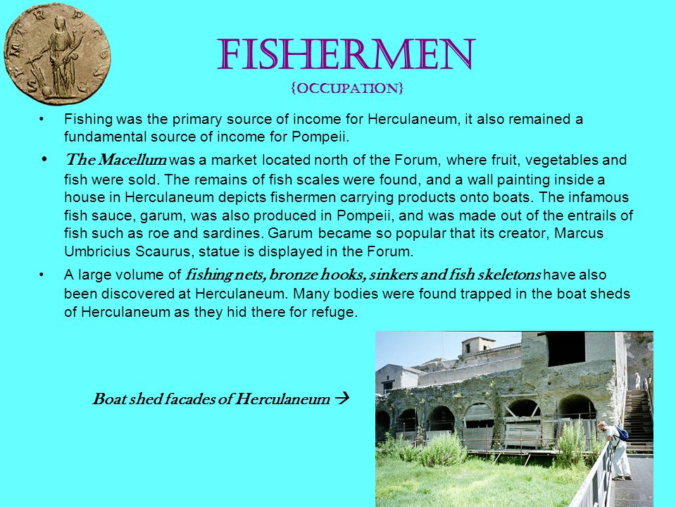Fishermen {occupation}