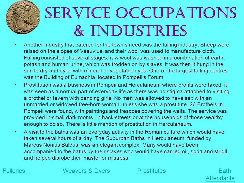 Service Occupations & Industries