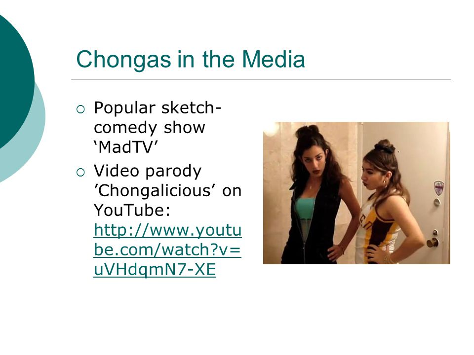 Chongas in the Media Popular sketch-comedy show 'MadTV'