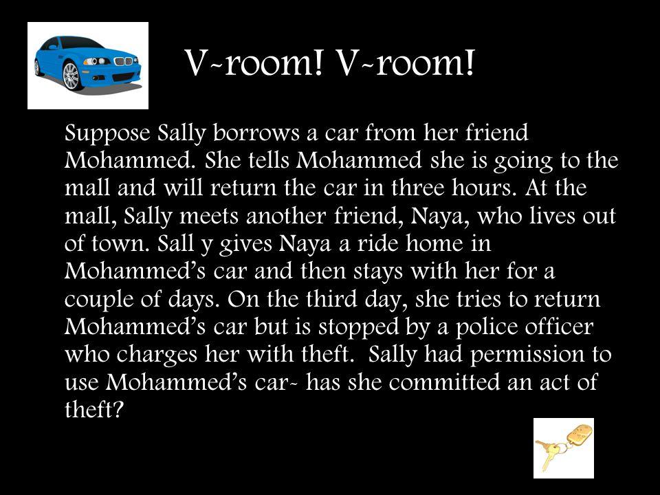 V-room! V-room!