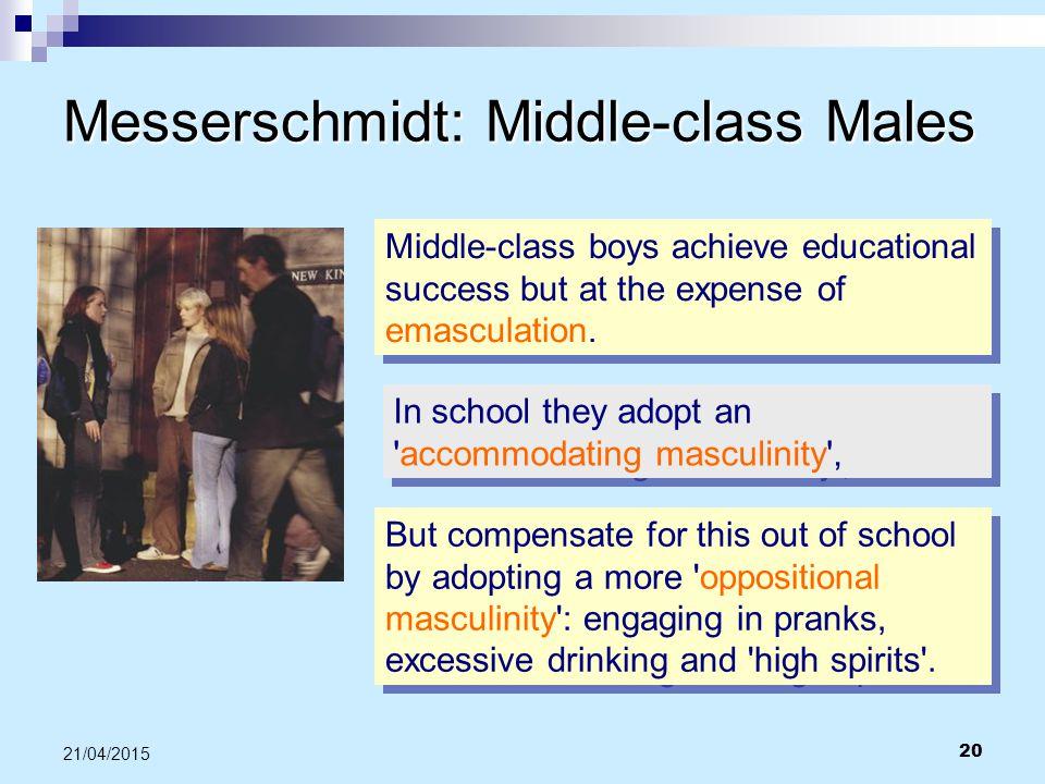Messerschmidt: Middle-class Males