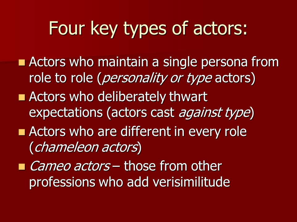 "different methods of acting ""strasberg meant that what is called ""method acting"" is nothing new, but rather as  old as western civilization itself for centuries, cultures used different words."
