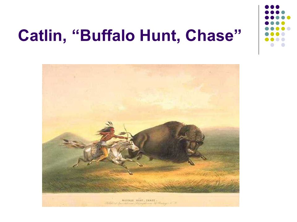 Catlin, Buffalo Hunt, Chase