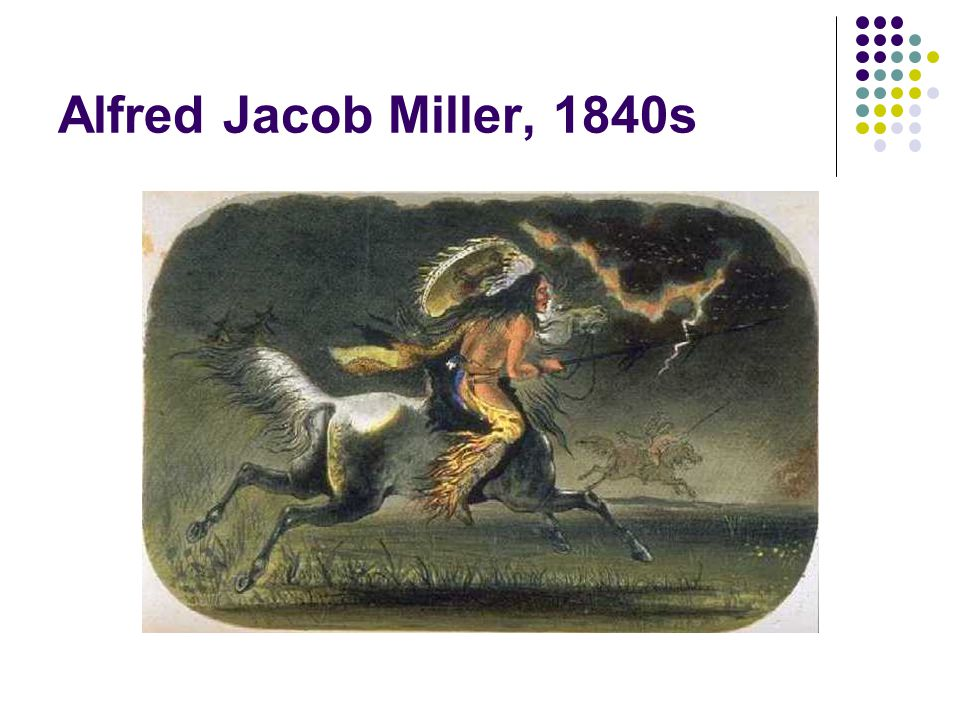 Alfred Jacob Miller, 1840s