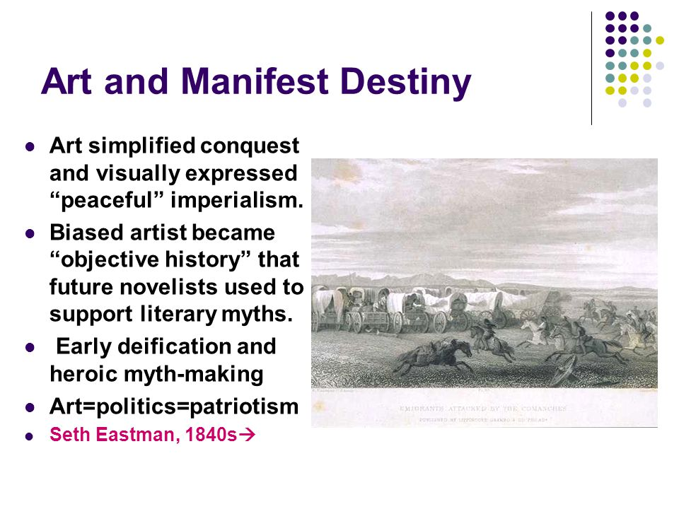 Art and Manifest Destiny