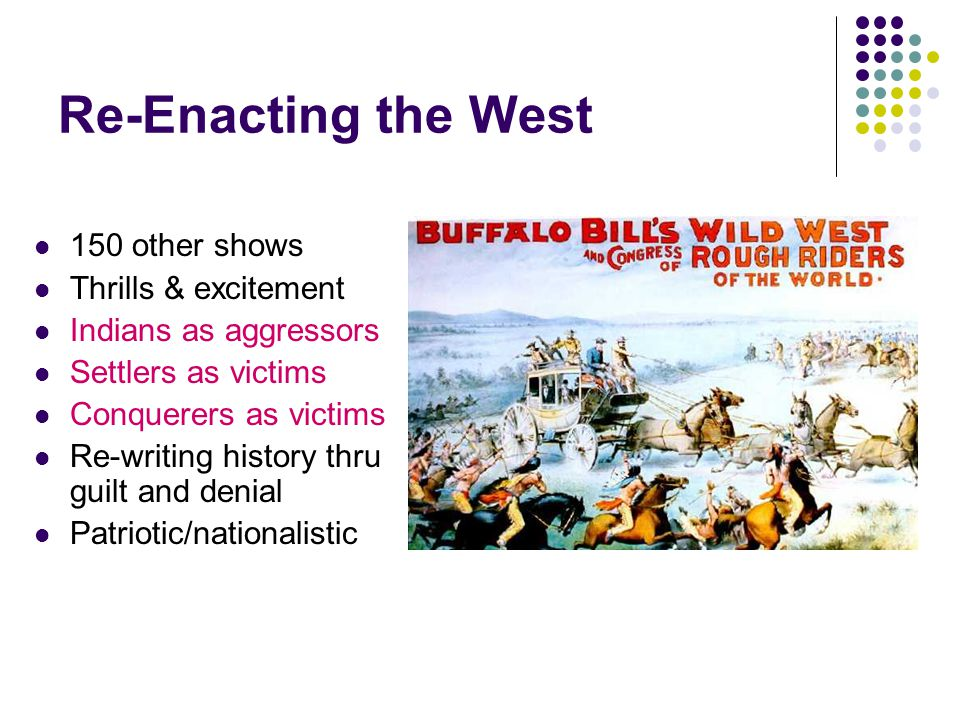 Re-Enacting the West 150 other shows Thrills & excitement