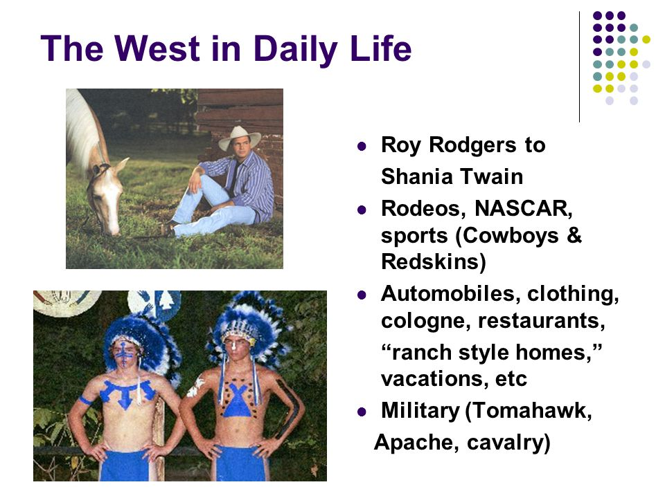 The West in Daily Life Roy Rodgers to Shania Twain