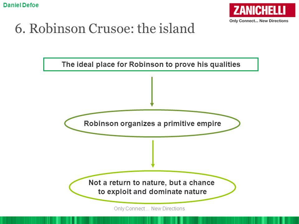 6. Robinson Crusoe: the island