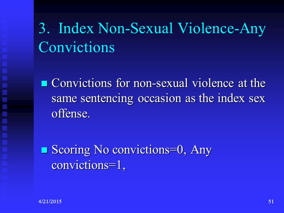 3. Index Non-Sexual Violence-Any Convictions
