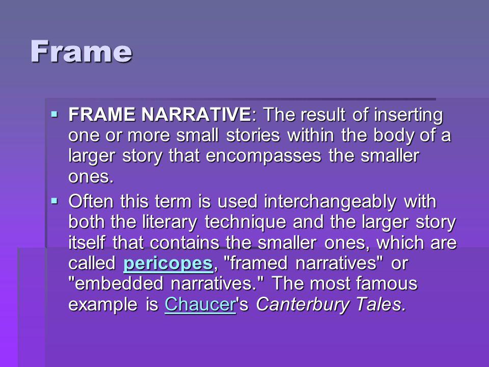 Frame narrative | Research paper Service - svcourseworkheea ...
