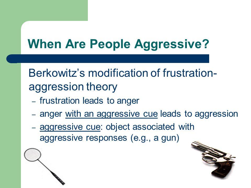 When Are People Aggressive