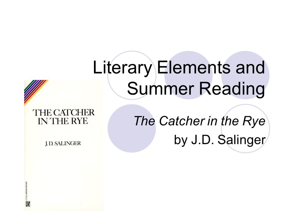 Literary Elements and Summer Reading