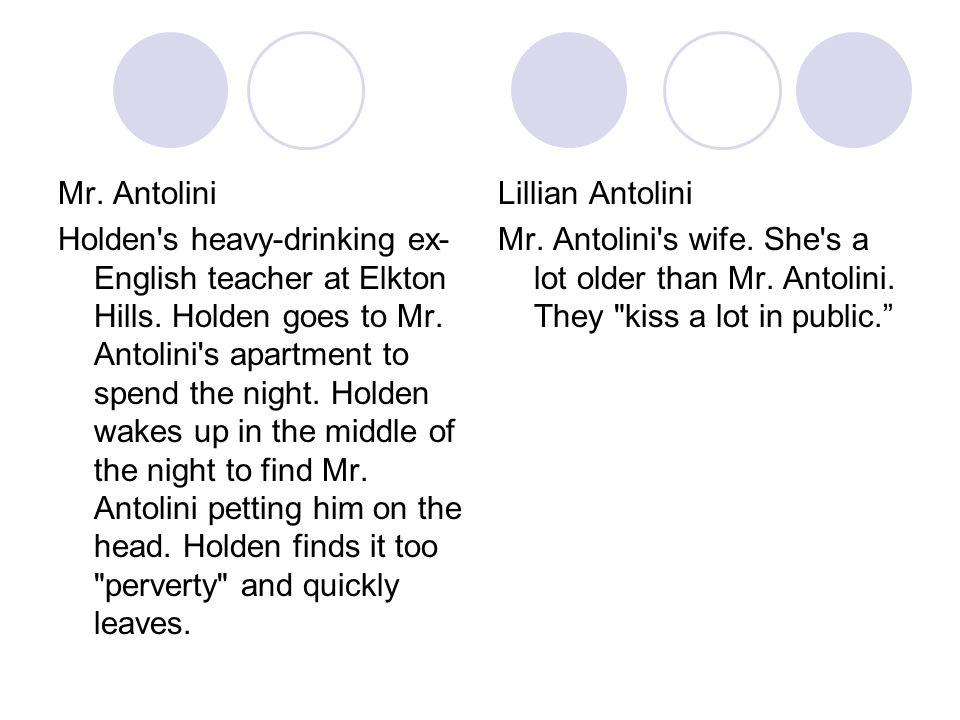 Mr. Antolini