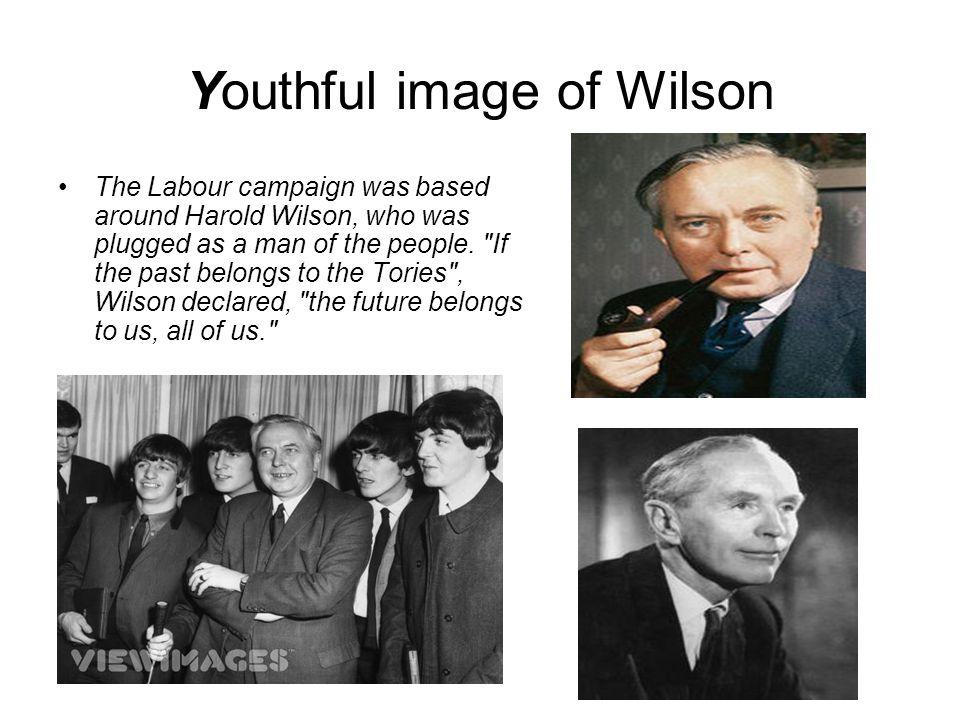 Youthful image of Wilson