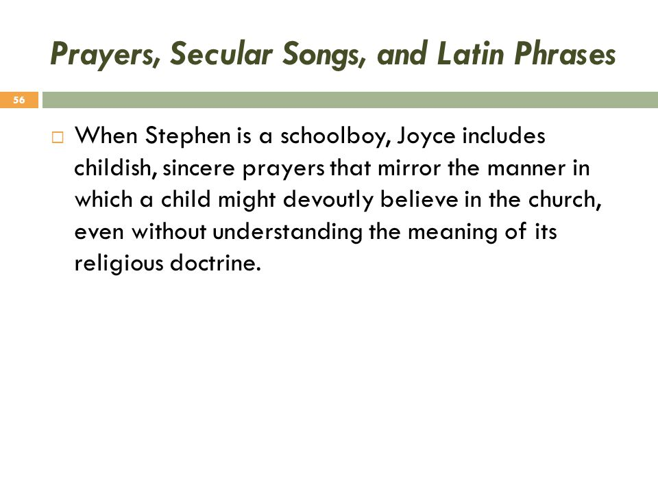 Prayers, Secular Songs, and Latin Phrases