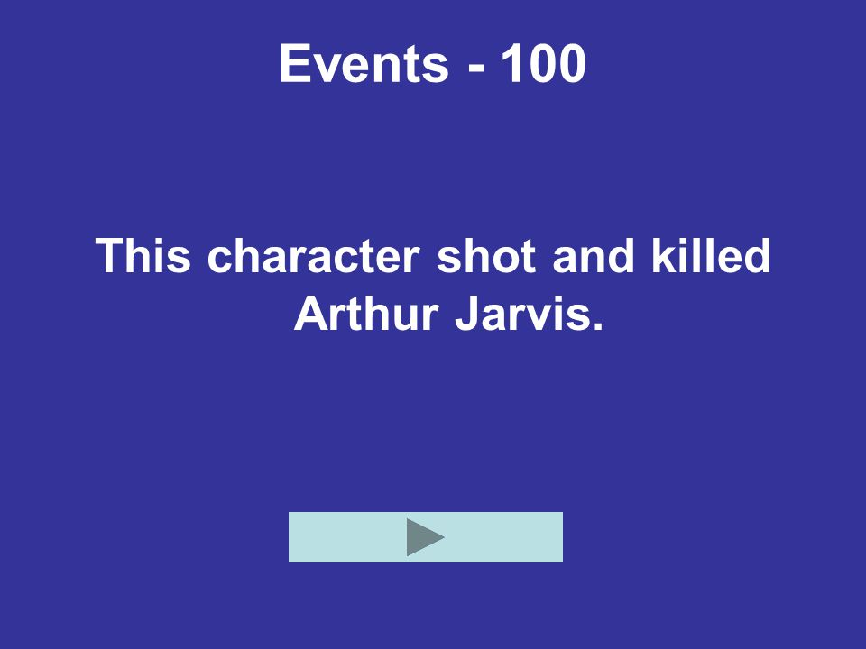 This character shot and killed Arthur Jarvis.