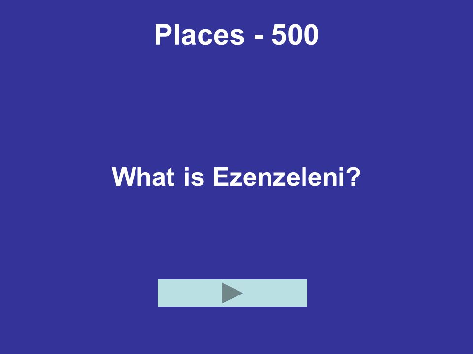 Places - 500 What is Ezenzeleni