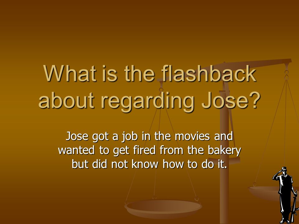 What is the flashback about regarding Jose