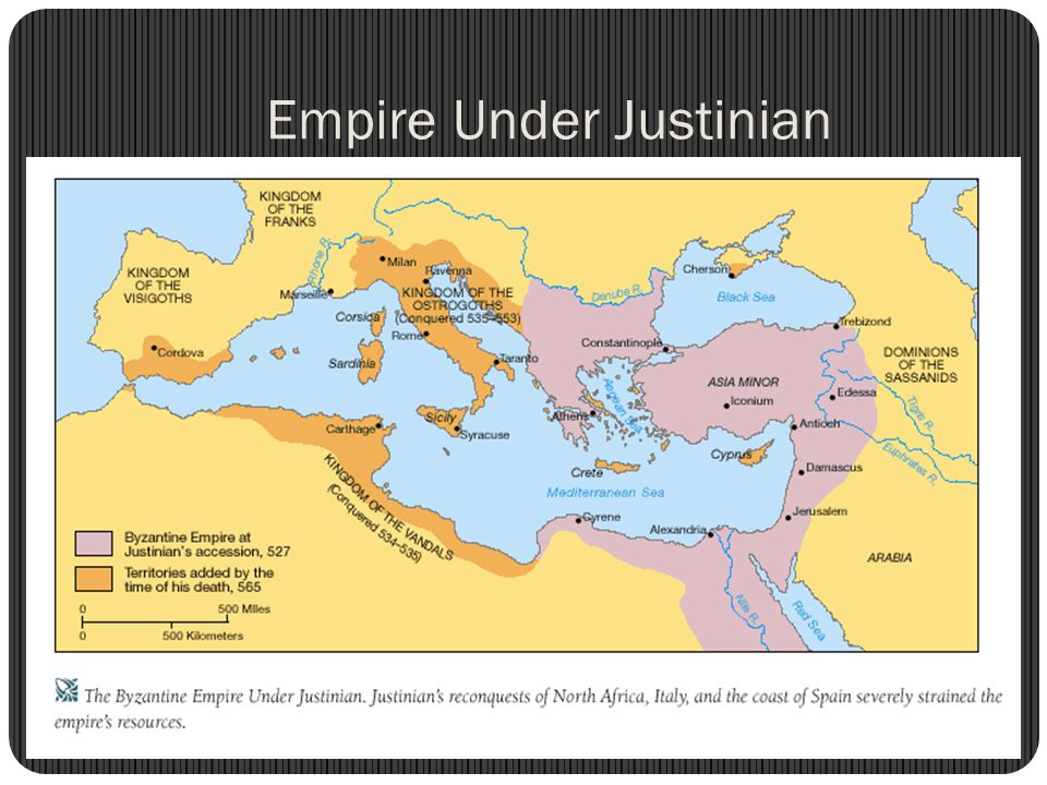 Empire Under Justinian