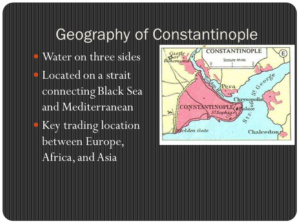 Geography of Constantinople