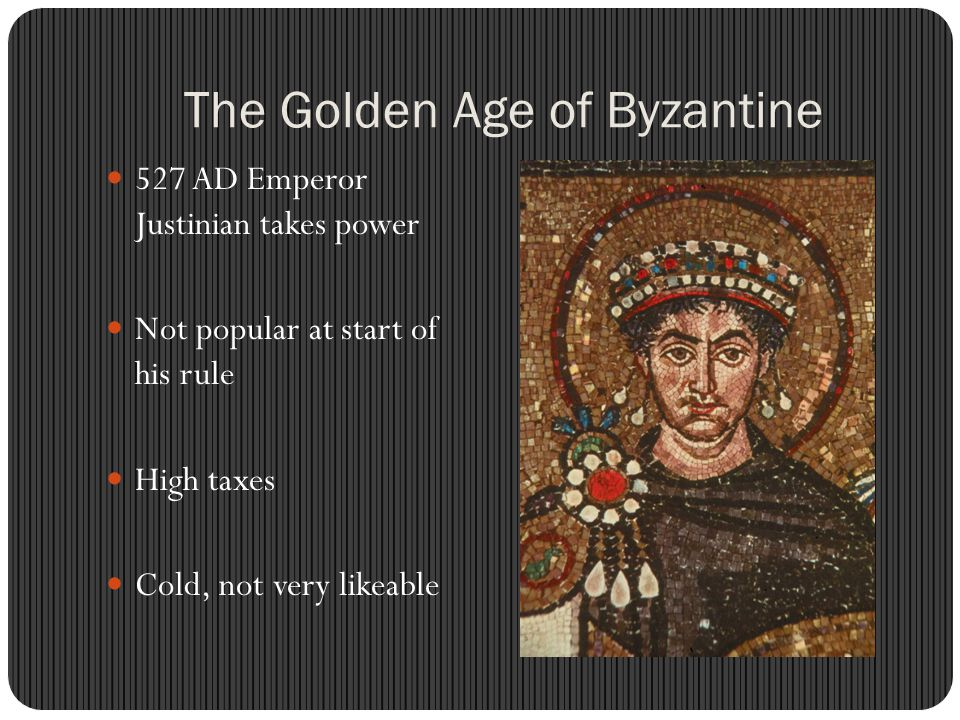 The Golden Age of Byzantine