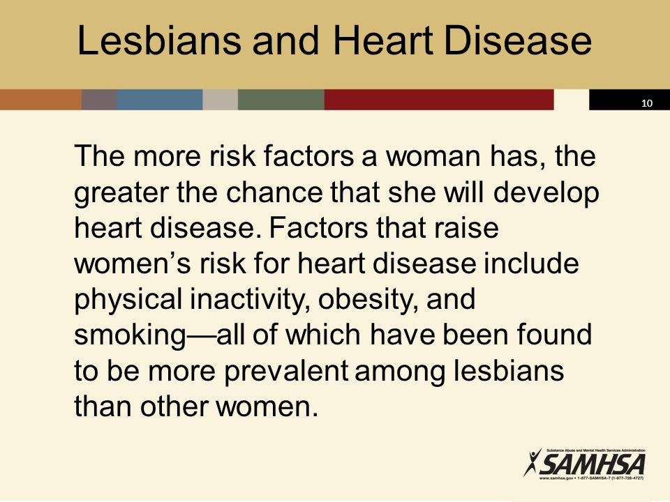 Lesbians and Heart Disease